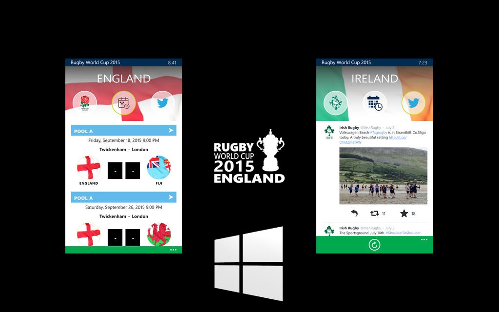 Rugby World Cup update adds small UX improvements, push notifications, and more