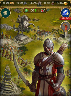 Imperia Online game update, Online strategy game, Windows 10 Mobile games