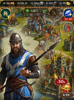 Imperia Online, Fantasy games, MMO strategy games