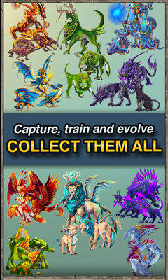 Runemals, Pokemon-type games, Collect monsters