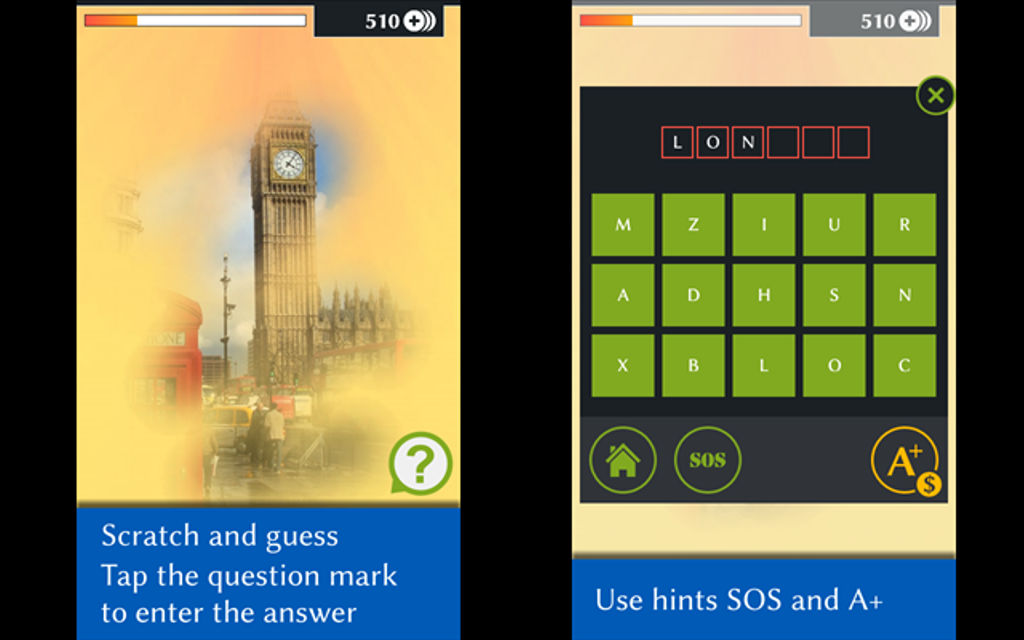 Scratch Mania brings puts your skills at identifying hidden photos to the test