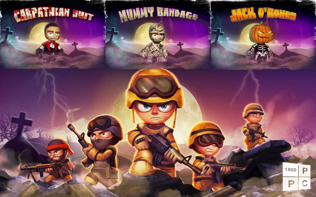 Tiny Troopers 2 gains three scary new uniforms just in time for Halloween