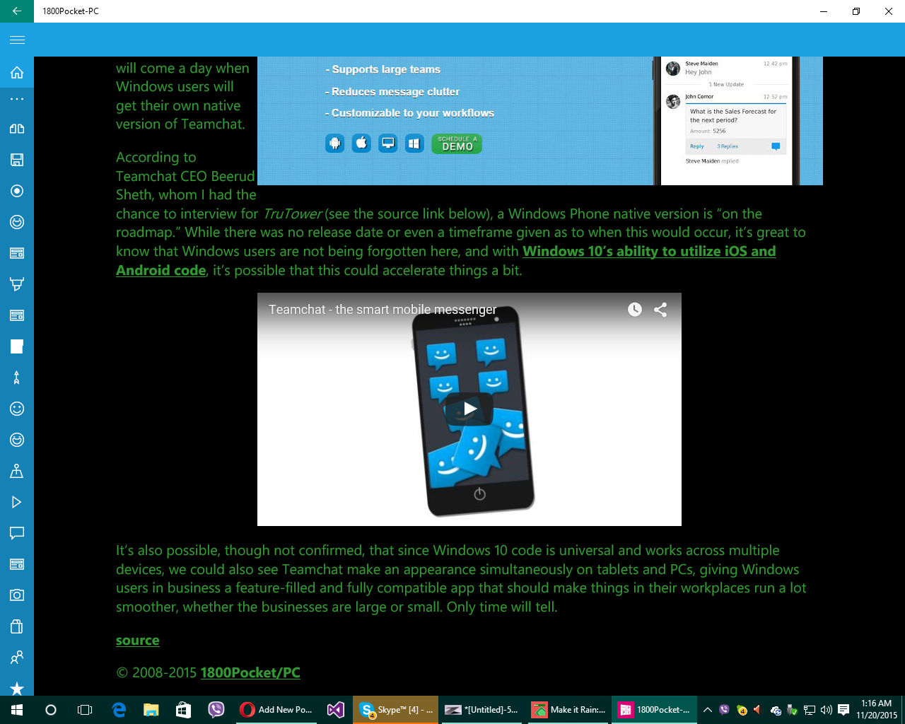1800PPC, Windows 10 Mobile news and updates, Windows insider updates