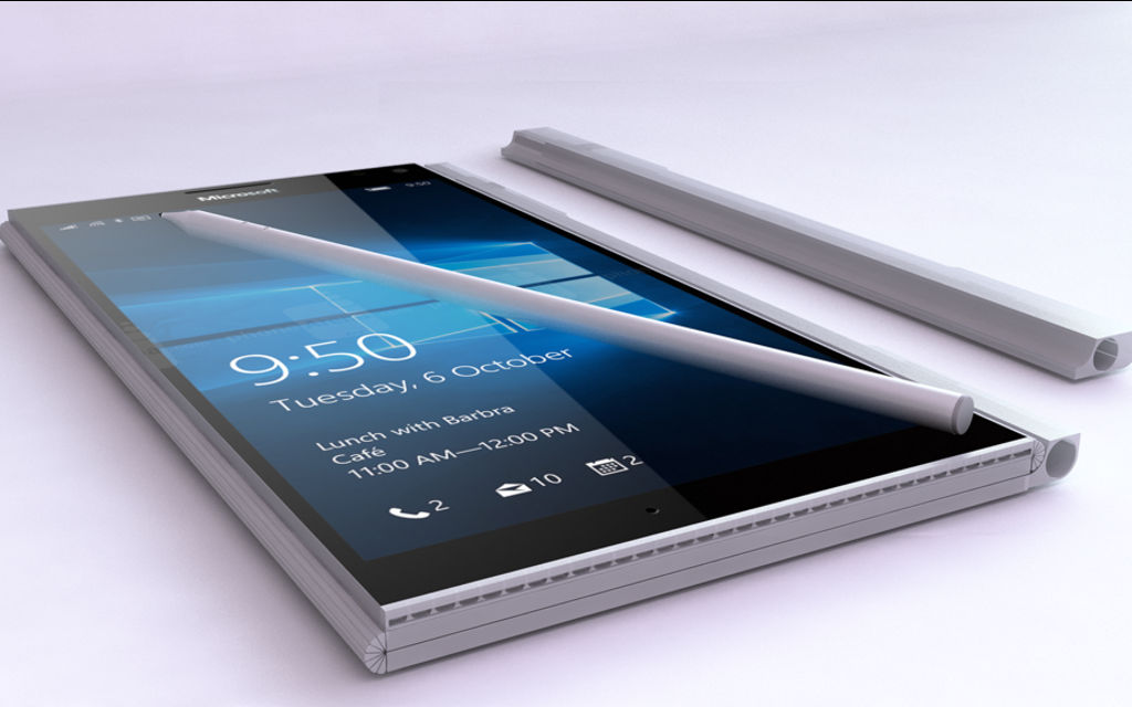 This Surface Phone concept would be really awesome to see in action