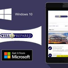 Prepper website Well Prepared launches a Windows 10 app