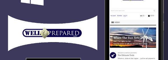Prepper website Well Prepared launches a Windows 10 app